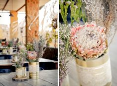 Rustic Protea Wedding by 5 Talents Photography | SouthBound Bride