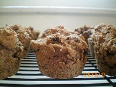 All Bran Muffins from Food.com:   								These muffins are delicious and healthy, too:  79 Calories per muffin; 3.7 grams of fiber per muffin One Weight Watcher Point.  From the kitchen of Michele Harvey Thornburg, Moberly MO.