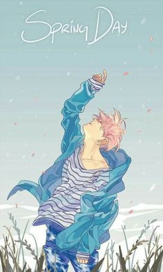 Bts fanart jimin springday fan art, k pop, i love bts, bts jimin K Pop, Jimin Fanart, Kpop Fanart, Bts Art, Bts Fan Art, Bts Spring Day, Bts Wallpapers, Kpop Drawings, Bts Chibi