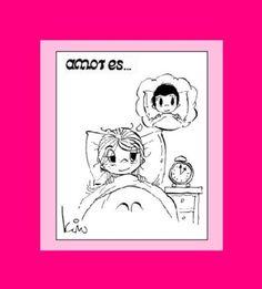 Amor es..... : ..... esperar despierta hasta que Él llegue del trabajo | amor_es_love