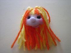 broche muñeca soft naranja y amarillo