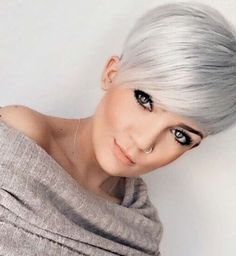 Outstanding Short Hairstyles 2017 – 1 The post Short Hairstyles Dark Hair 2017 – appeared first on . Short Grey Hair, Short Blonde, Short Hair Cuts, Short Hair Styles, Pixie Cuts, Short Pixie, Undercut Hairstyles, Pixie Hairstyles, Short Hairstyles For Women