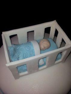 Baby taart topper