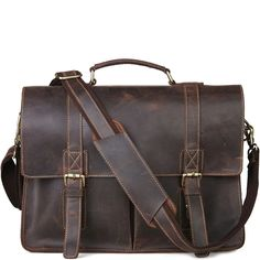 This durable work English leather briefcase makes for a terrific business companion. Briefcases, Types Of Bag, Leather Briefcase, Classic Leather, English, Bags, Men, Leather Portfolio, Handbags