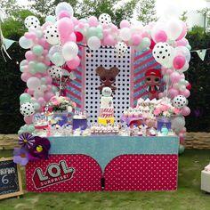 Celebramos el cumple #6 de Mariana #LOLSurprise Desarrollamos tus ideas Info: (313) 324-6936 / (318) 775-4843 #lacomarcaibague #eventosibague #ibague #fiestasinfantiles #lolsurprise #lolsurpriseparty Diseño: @noheliagiraldo