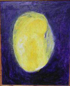"""this canvas comes out of the series """"syncretive color-constellation"""": yellow in violet; collector may write proposal to rocreate@me.com Constellations, Proposal, Art Pieces, Things To Sell, Yellow, Canvas, Painting, Color, Tela"""