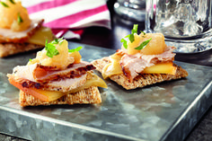 Pork & Apple-Mustard Topper Recipe
