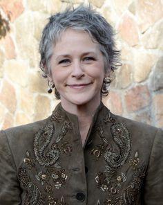 Melissa McBride gray