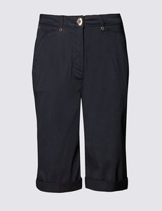 06d23cc34a M&s per Una Chino Shorts Navy Size UK 18 Mm 13 for sale online