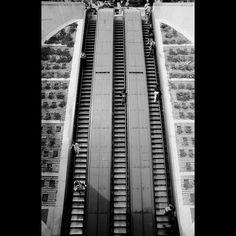 Dupont Circle Escalators by Alex Barth, via Flickr