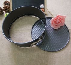 7 Inches Non-stick Bake-ware Round Carbon Steel Cake Pan,