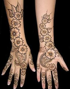 Mehndi tattoo design