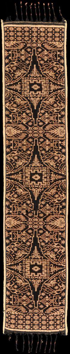 Geringsing - Ikat from Tenganan, Bali, Indonesia, ca. 1900.