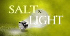 free game and lesson on being salt and light