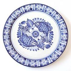 Emilia Ceramics Dos Pescado Serving Plate