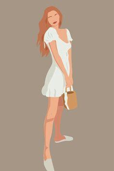 Illustration Art Drawing, People Illustration, Portrait Illustration, Drawing Art, Girl Illustrations, Digital Illustration, Arte Indie, Modelos Fashion, Foto Art