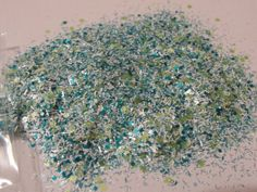 Solvent Resistant Glitter Mix  Ocean Breeze  5 von CustomNailArt, $3.00