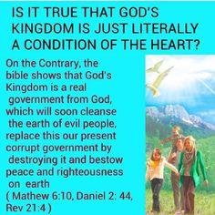 God's Kingdom is a REAL GOVT!