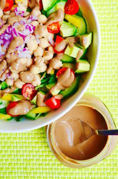 "Maximize your salad's health benefits with this nutritarian, oil-free and vegan salad dressing recipe from Dr. Fuhrman's latest book, ""The End of Dieting!"""