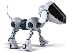 The four-legged robots are not a novelty anymore. Scientists from Florida Atlantic University's Machine Perception and Cognitive Robotics Laboratory (MP Brain Twister Games, Hand Signals, Real Dog, Super Robot, Business Technology, Search And Rescue, Service Dogs, Doberman, Four Legged