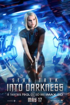 Check out Alice Eve in the new Star Trek Into Darkness poster