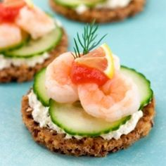 Canapes recipes on pinterest easy canapes canapes and for Summer canape ideas