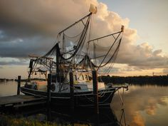 Shrimp Boat, Golden Meadow, Louisiana