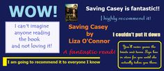 Readers Review Saving Casey