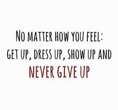 Never give up!  via @campkupugani