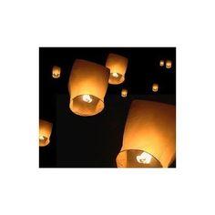 La lanterne céleste blanche décorationsdemariage.fr.       Prix : 1,99€