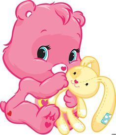 ~Wonderheart~the youngest of the Care Bears and also she's Adorable!