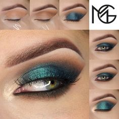 Dangerously beautiful, this Sea Siren look is as captivating as the mythological creatures themselves.  This alluring creation by @anshu_makeup uses:  Vanilla Bean (brow bone)  Peach Smoothie (transition)  Latte (crease)  Mocha (outer v & lower lash line)  Houdini (all over lid)  Mermaid (center of the lid)  Starry Eyed (inner corner)  Immortal (waterline & lower lash line)  Tempted to give this a try? Click the link in our bio to see the complete photo tutorial with product details!