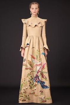 Valentino Pre-Fall 2015 Fashion Show: Runway Review - Style.com- dont care for the top but the skirt is just lovely