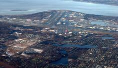 Aeropuerto Internacional de Anchorage y Ensenada de Cook.