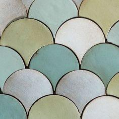 Tabarka floor tiles 'fan'