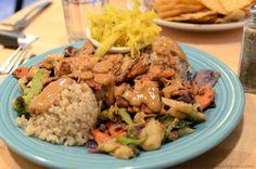 Vegan Special (Curried Tempeh) at Tao Natural Food
