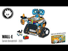LEGO BOOST WALL-E - YouTube Lego For Kids, Wall E, Lego Ideas, Cool Kids, Art Projects, Youtube, The Creator, Things To Come, Construction