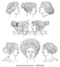 Ancient Greece hair dressing  History of hair