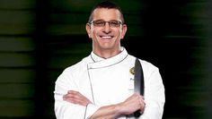 Chef Robert Irvine steps off screen and onto the stage. April 27.