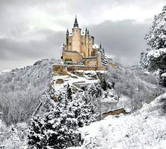 alcazar-castle-of-segovia-spain.jpg Photo: This Photo was uploaded by staffpicks. Find other alcazar-castle-of-segovia-spain.jpg pictures and photos or . Beautiful Castles, Beautiful World, Beautiful Places, Amazing Places, Amazing Things, Wonderful Places, Places To Travel, Places To See, Travel Destinations
