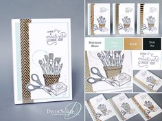 Stampin'Up! by Djudi'Scrap - Bloc Notes «Set Créativité Toujours/ Crafting Forever »