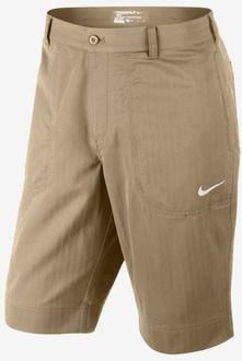Nike Men's Sport Cargo Golf Shorts in Linen/Sail
