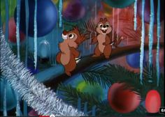 chip and dale smile