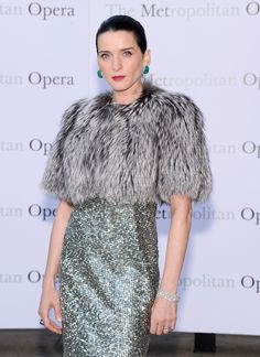 Michele Hicks Fox Fur Bolero - Fur Coat Lookbook - StyleBistro