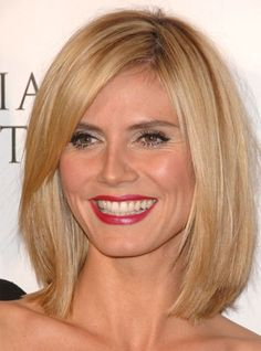 Heidi Klum Bob every girl and gurl should wear one once in her life! :-)