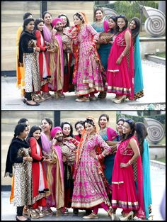#Indian #Wedding #Bride #Groom #Family #Friends #Photoshoot #Couple