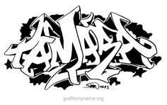 """tamara"" - A graffiti peice of the name ""tamara"" Graffiti My Name, Graffiti Drawing, First Names, Backgrounds, Artsy, Clip Art, Templates, Drawings, House"