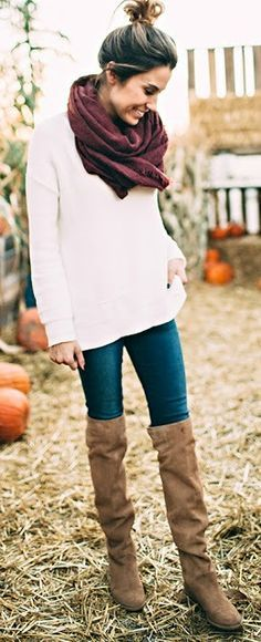Image result for light brown heel boot outfit ideas