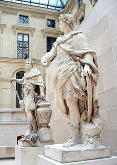 Julius Caesar And Brutus, the Louvre