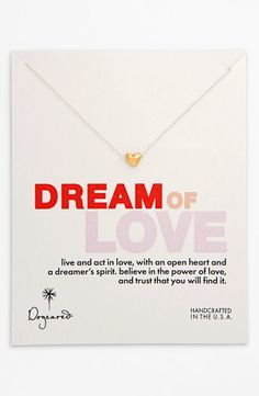 Such a sweet necklace - dream of love